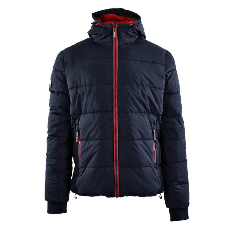 aec90546ceb7 Superdry Μπουφάν Μπλε Sports Puffer M50006CR JRI - Men Tzillas