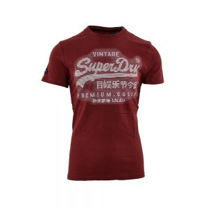 Superdry T-Shirt Κόκκινο