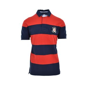 Tommy Hilfiger Polo T-Shirt Κόκκινο Ριγέ